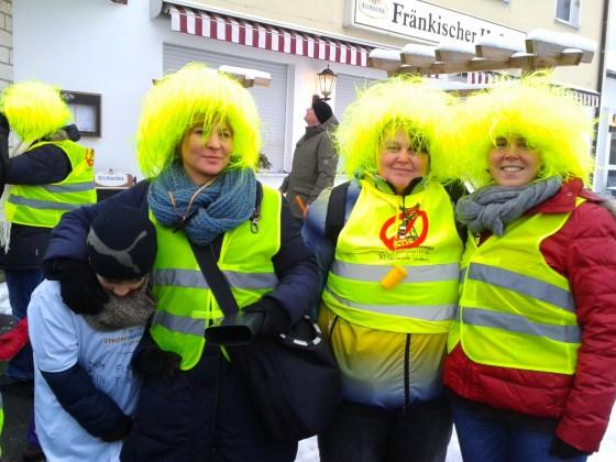 Auch die Stromrebellen der BI Leinburg sind dabei