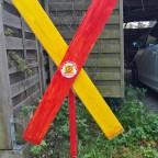 erstes Trassenkreuz in Pühlhof