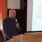 Hubert Galozy moderiert und berichtet vom Energiedialog in München