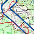 Streckenverlauf der der HGÜ-Vorzugstrasse