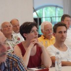 Martina Baumann 1. Bürgermeisterin Neunkirchen am Sand, Vertreterin der regionalen Kommunen