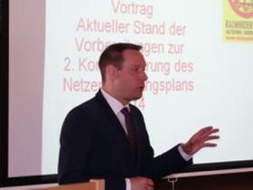 Landrat Armin Kroder aktiv gegen HGÜ-Trassen