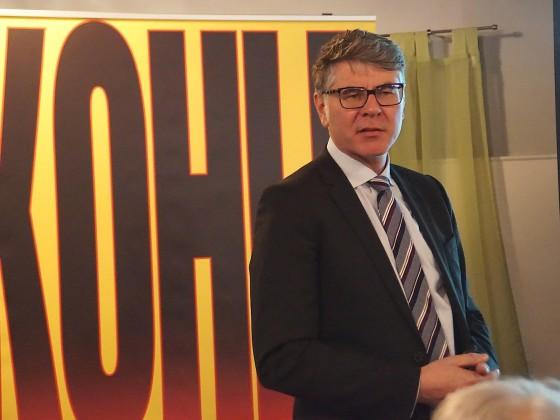 Referent Rainer Kleedörfer von der N-ERGIE