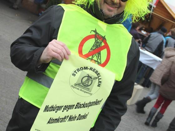 Mutbürger gegen Blackoutpaniker