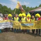 BI Leinburg und Mitstreiterinnen aus der Oberpfalz in Welzow mit Eva Bulling-Schröter