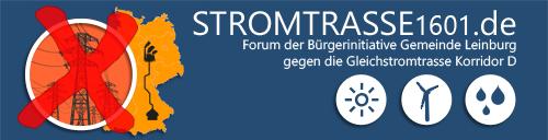 Bürgerinitiative gegen die Stromtrasse im Nürnberger Land